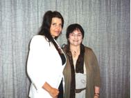 May 2012 Boston Colette Baron-Reid & Sharon Lair
